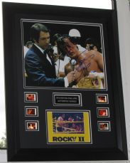 AAAA  SYLVESTER STALLONE SIGNED ROCKY II A ONE OF ITEM